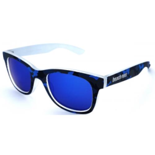 BEACH FORCE ΓΥΑΛΙΑ ΗΛΙΟΥ BLUE MIRROR WAYFARER POLARIZED - BF3061P COL10